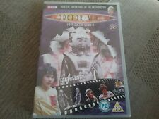 doctor who  fifth doctor story 6 earthshock dvd new and  sealed freepost