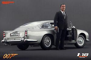 1:18 James Bond 007 Sean Connery VERY RARE!!! NO CARS !! for aston martin by SF