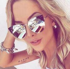 Sonnenbrille Cateye Damenbrille Retro Rosa Katzenaugen Verspiegelt Blogerhit