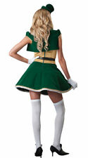 ST. PATRICK'S DAY DELUXE LUCKY LASS COSTUME WOMENS SIZE SMALL SEXY LEPRECHAUN