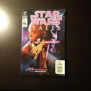 STAR WARS TALES #13(Dark Horse 2002)Mace Windu Photo 1st Grogu Prototype Newssta