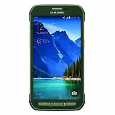 Samsung Galaxy S5 Active G870A 16GB Camo Green Rugged Smartphone (GSM Unlocked)
