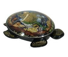 Palekh Russian Lacquer Box MERMAID #4199.19