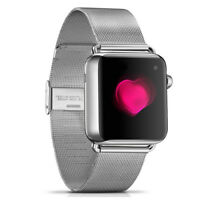 Replacement Band for Apple Watch 42mm Stainless Steel Milanese Bracelet