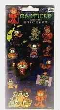 Garfield The Cat Acid Free Sparkle Halloween Stickers PAWS Mello Smello