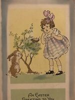 Vintage Postcard, An Easter Greeting To You Whitney Made Worcester Mass. P68