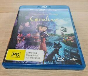 Coraline Blu Ray (2D + 3D) Region B