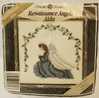 Mill Hill Renaissance Angels Aida Praying Angel MHRA6A Cross Stitch Kit