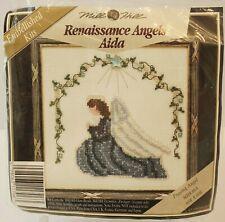 Mill Hill Renaissance Angels Aida Praying Angel MHRA6A Cross Stitch Kit
