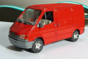 FORD TRANSIT 1:35 90'S Old Shop Stock Van Diecast Toy Car Model Miniature