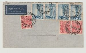 Envelope Sydney to England  (BP103)