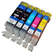 PGI550XL CLI551XL Multipack 5 Ink Cartridge Set For Canon Pixma MG5650 Non OEM