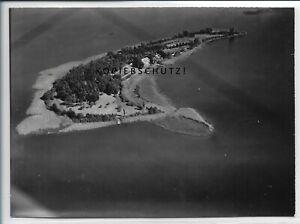 ZZ-4876/ Lychen Lychensee  Foto seltenes Luftbild 1939 18 x 13 cm