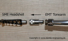 Adapter for EMT Tonearm -> SME Headshell New & Exclusive by Stanley-Engineering