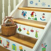 LET IT SNOW WALL DECALS Ornaments Stickers Holiday Decorations Christmas Decor