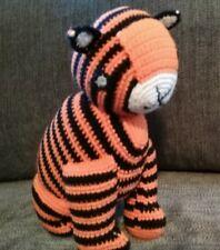 FAIR TRADE Crochet Tiger by PEBBLE