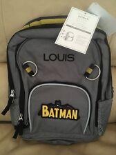 Pottery Barn Kids SMALL fairfax BACKPACK Batman -Monogram Louis