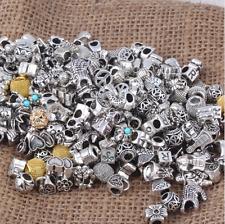 Bracelet Beads 50 Pcs Mixed Random PANDORA Charms Fashion Jewelry 8-10 Mm Size