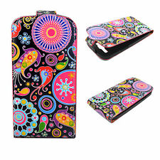 Vertical Magnetic Flip Leather Pocket Case Cover For Samsung Galaxy S3 III i9300