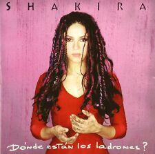 CD - Shakira - Dónde Están Los Ladrones? - #A3416