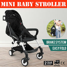 Mini Baby Stroller Travel System Small Pushchair Infant Carriage Flodable