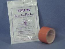 "Perma-Type D-126 Pink Waterproof Adhesive Tape Zinc Oxide Skin Safe - 1½"" x 5yds"