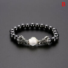 Mix Style Magnetic Bracelet Beads Hematite Stone Health Care Charm Jewelry GEB