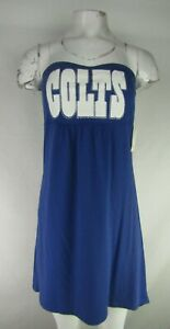 Indianapolis Colts NFL G-III Women's Strapless Dress