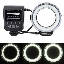 Meike FC-100 FC100 Macro Ring Flash/Light for Canon 700D 70D 7D II 760D 5DS R