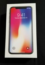 Apple iPhone X - 256GB - Space Gray (Factory Unlocked) Smartphone World-Phone