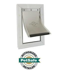 Petsafe Freedom Aluminum Pet Dog Doors  X-large, Large, Med, Small-FULL WARRANTY