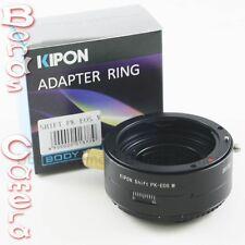 Kipon Pentax K PK lens to Canon EOS M EF-M mount mirrorless camera shift adapter