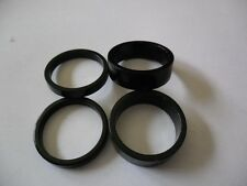 """Bike headset spacer CNC 1-1/8"""" 10mm x 2+ 5mm x 2 Bicycle Spacer 4 PCS Aluminum"""