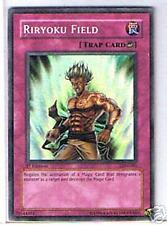 Yugioh; Riryoku Field Yu-Gi-Oh Trap Card