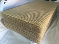 WHITSUNDAY HONEY QTY 10 BEEHIVE FOUNDATION SHEETS UNWIRED FOUNDATION SHEETS ONLY