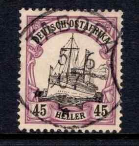 German East Africa 1905 45h Black & Violet SG 32a Cat £150 F/Used