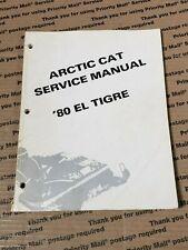 ARCTIC CAT Snowmobile 1980 El Tigre Service Manual 0153-331