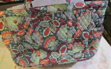 VERA BRADLEY Get Carried Away Tote Bag XL NEW TAGS Nomadic Floral