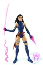 "Marvel Legends 6"" Inch Apocalypse BAF Wave Black Hair Psylocke Loose Complete"