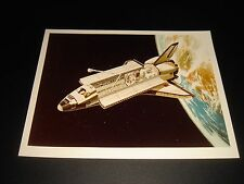 UNCOMMON VTG OFFICIAL NASA SPACE SHUTTLE ARTIST CONCEPT PHOTO