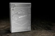 Monarchs Playing Cards - Silver (Rare)