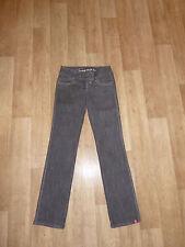 """EDC by ESPRIT """"FIVE"""" Jeans Grau + Lurex W26 L32 **w.NEU**"""