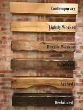 "Oak Beam 36"" 46"" 60"" Mantle Mantel Piece Rustic Kiln Dried Wood Burning Stove"