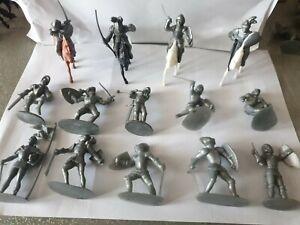 Soldatini prb medievali vintage scala 1/32