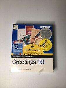 Microsoft Graphics Studio Greets 99 CD ROM