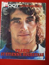 1976 miroir du football n°271 ROCHETEAU SAINT ETIENNE FRANCE MARSEILLE LAVAL