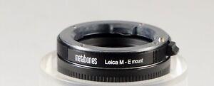 Metabones Leica M - E Mount