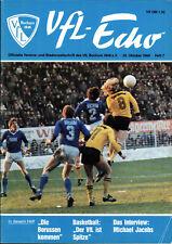 BL 80/81 VfL Bochum - Borussia Dortmund, 25.10.1980, Interview Michael Jakobs