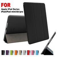 Smart Case Magnetic Leather Tablet Cover For iPad Air/Pro/mini 7.9 9.7 10.2 10.5