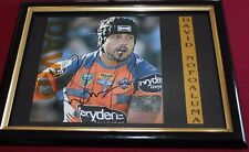 DAVID NOFOALUMA ~*~ Signed & Framed ~*~ WESTS TIGERS + COA